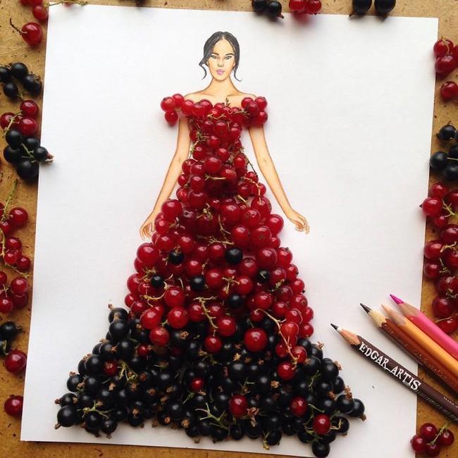 Những mẫu váy dạ hội lộng lẫy lấy cảm hứng từ vật dụng đời thường khiến ai cũng phải chết mê
