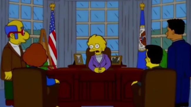 16 năm trước, phim hoạt hình Gia đình Simpson đã tiên đoán ông Trump sẽ trở thành Tổng thống Mỹ - Ảnh 3.