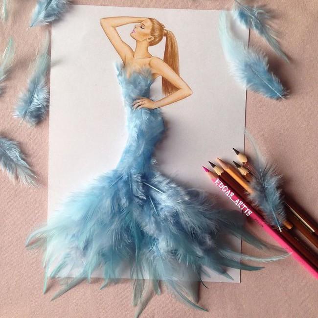 Con gái chắc chắn sẽ chết mê những mẫu váy dạ hội lộng lẫy lấy cảm hứng từ vật dụng đời thường - Ảnh 13.