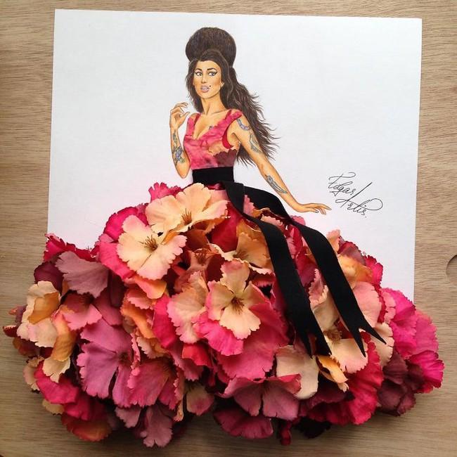 Con gái chắc chắn sẽ chết mê những mẫu váy dạ hội lộng lẫy lấy cảm hứng từ vật dụng đời thường - Ảnh 15.