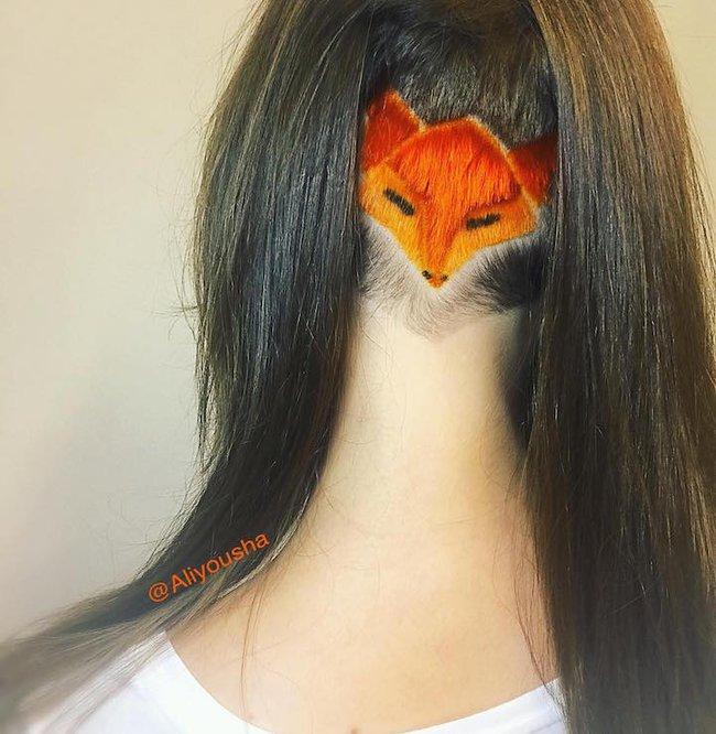Những mái tóc cạo gáy tạo hình động vật vừa cá tính vừa kín đáo vô cùng - Ảnh 3.