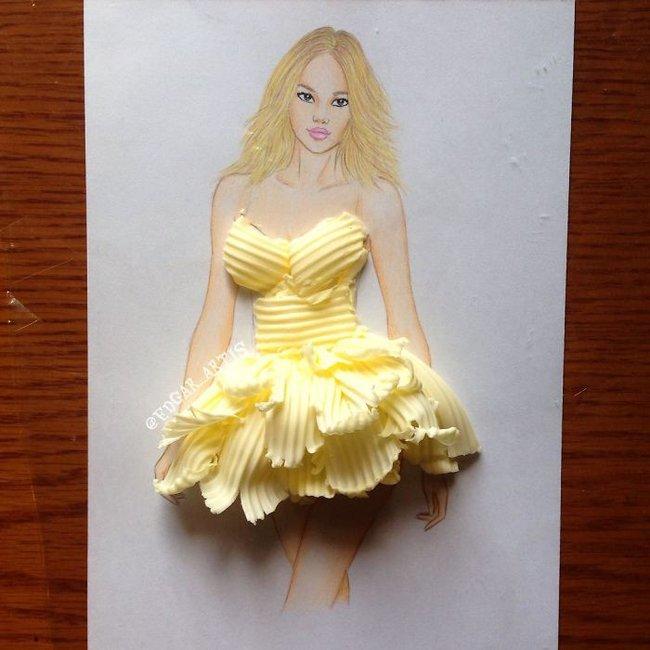 Con gái chắc chắn sẽ chết mê những mẫu váy dạ hội lộng lẫy lấy cảm hứng từ vật dụng đời thường - Ảnh 17.