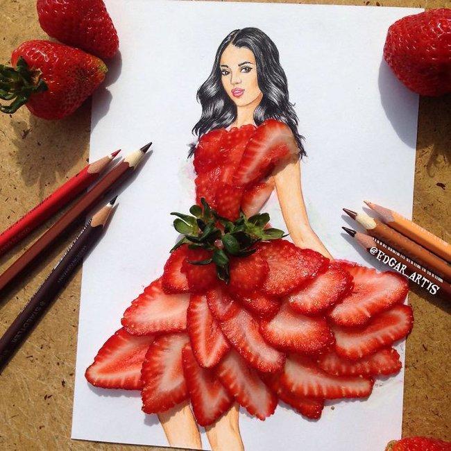 Con gái chắc chắn sẽ chết mê những mẫu váy dạ hội lộng lẫy lấy cảm hứng từ vật dụng đời thường - Ảnh 21.