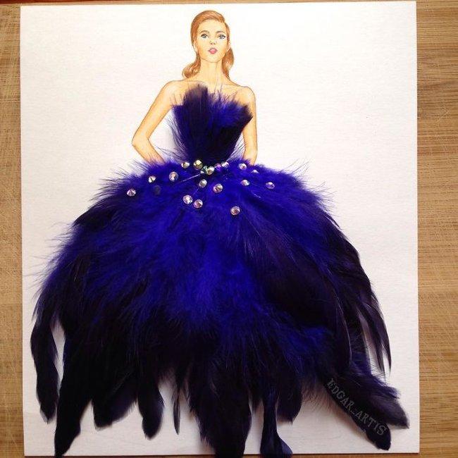 Con gái chắc chắn sẽ chết mê những mẫu váy dạ hội lộng lẫy lấy cảm hứng từ vật dụng đời thường - Ảnh 5.
