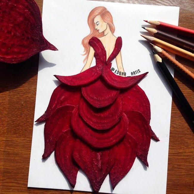 Con gái chắc chắn sẽ chết mê những mẫu váy dạ hội lộng lẫy lấy cảm hứng từ vật dụng đời thường - Ảnh 7.