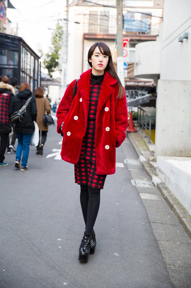 Tuần lễ thời trang Tokyo: vẫn bắt mắt, vẫn dị đến tận cùng! - Ảnh 9.