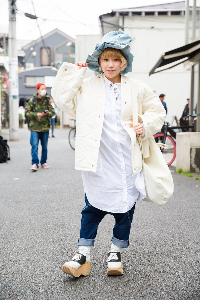 Tuần lễ thời trang Tokyo: vẫn bắt mắt, vẫn dị đến tận cùng! - Ảnh 5.