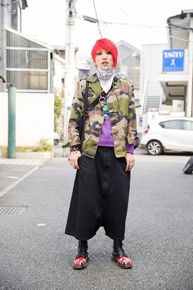 Tuần lễ thời trang Tokyo: vẫn bắt mắt, vẫn dị đến tận cùng! - Ảnh 7.