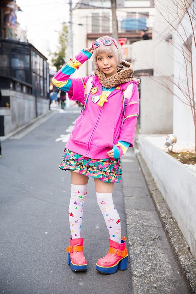Tuần lễ thời trang Tokyo: vẫn bắt mắt, vẫn dị đến tận cùng! - Ảnh 4.