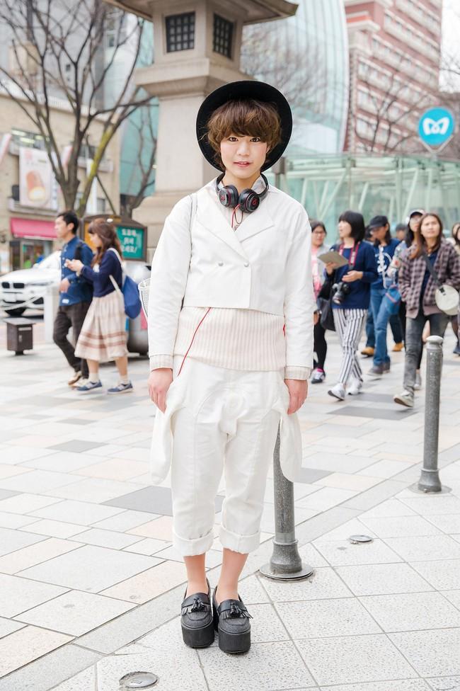 Tuần lễ thời trang Tokyo: vẫn bắt mắt, vẫn dị đến tận cùng! - Ảnh 17.