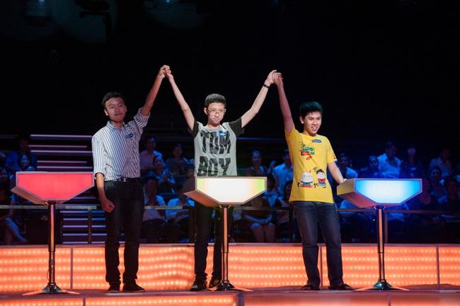 Cậu bé Google Phan Đăng Nhật Minh là cái tên đầu tiên xuất hiện trong trận chung kết Olympia 2017 - Ảnh 3.