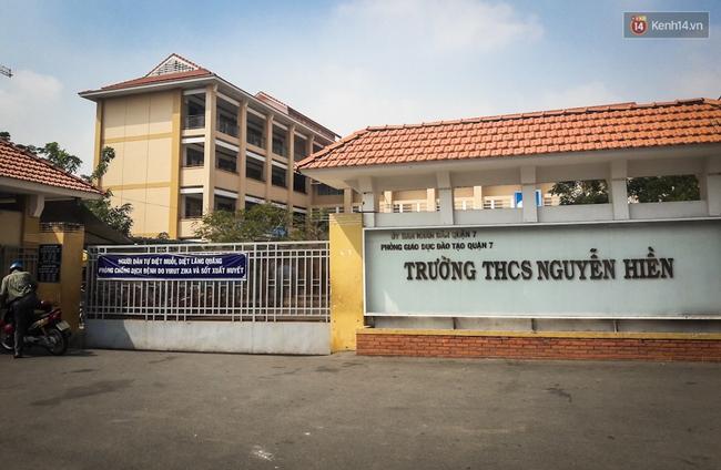 Nam sinh lớp 7 ở Sài Gòn bị thầy giám thị tát liên tiếp vào mặt ngay trên bục giảng - Ảnh 2.
