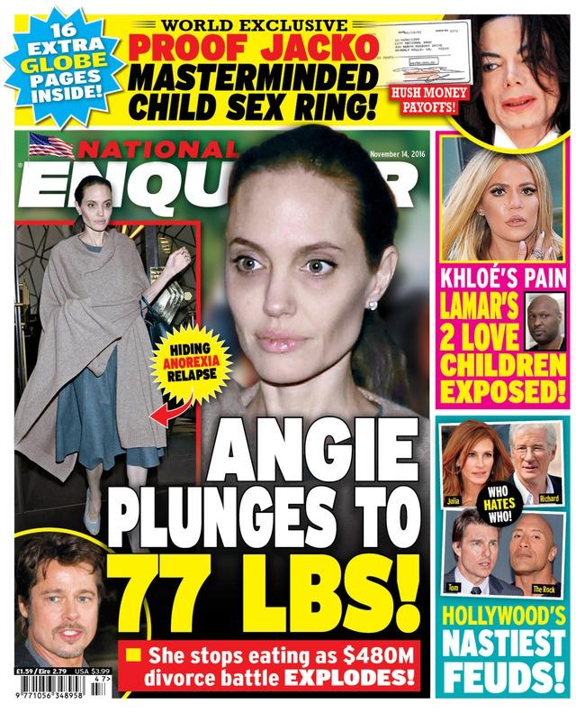 Angelina Jolie giờ đây chỉ còn 34 kg dù cao gần 1m70? - Ảnh 13.