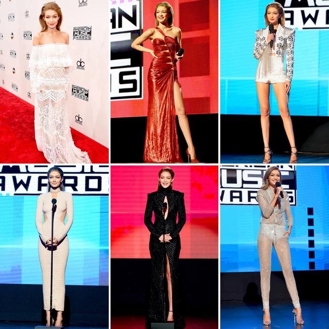 6 lần biến hóa lộng lẫy như nữ thần của Gigi Hadid ở AMA 2016 - Ảnh 15.