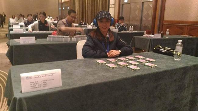 Cô gái Việt xinh đẹp và hành trình tham gia giải Vô địch thế giới về Trí nhớ - ảnh 4