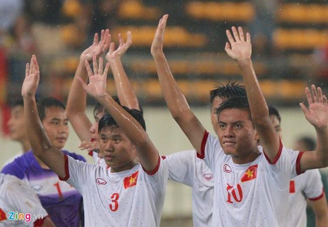 U19 Việt Nam đánh bại U19 Thái Lan trong trận mở màn BKZ Cup 2016 - Ảnh 2.