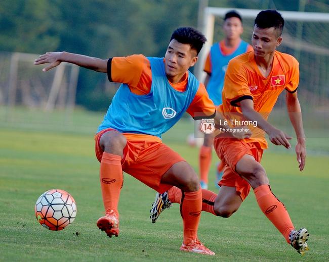 Cầu thủ HAGL bị đuối khi tập cùng các cầu thủ U19 Việt Nam - Ảnh 7.