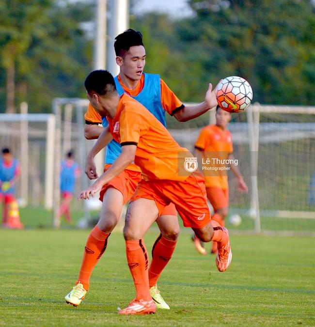 Cầu thủ HAGL bị đuối khi tập cùng các cầu thủ U19 Việt Nam - Ảnh 5.