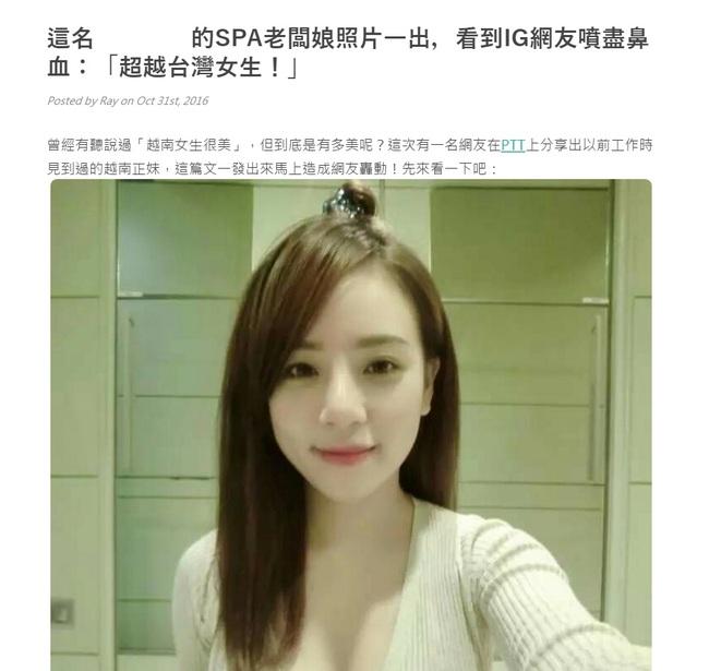 Cô gái Việt vô danh bỗng được cư dân mạng Trung Quốc săn lùng vì... quá xinh - Ảnh 1.