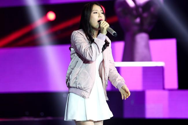 Cô bé 16 tuổi người Hàn hát nhạc Big Bang gây sốt ngay tập đầu Giọng hát Việt! - Ảnh 2.