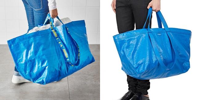 Túi 50 triệu của Balenciaga trông hệt như túi nhựa 20 nghìn được bán ở IKEA hình 2