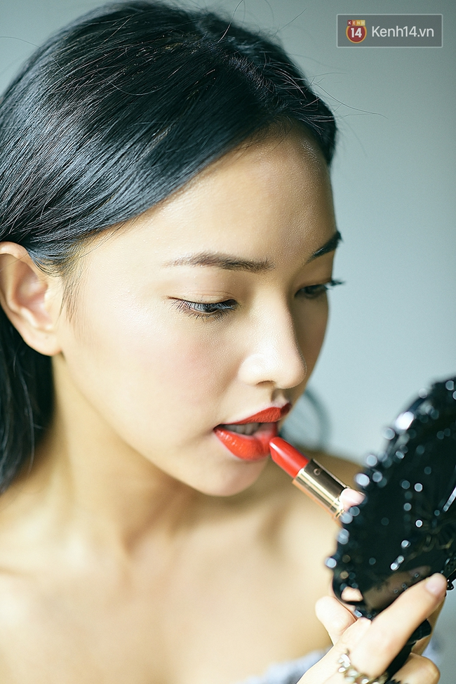 Hot girl mê son đỏ Châu Bùi review cực kĩ 3 cây son đỏ hot nhất thời gian qua - ảnh 2