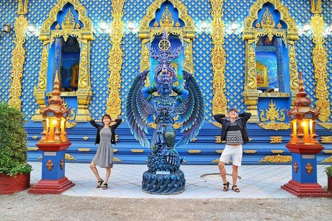 """Cặp đôi tung hoành khắp châu Á với bộ ảnh chụp """"trăm nơi như một"""" - ảnh 5"""
