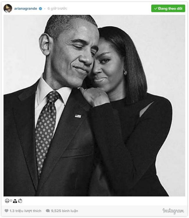 Loạt sao thế giới tiếc nuối khi ông Obama chia tay Nhà Trắng - Ảnh 1.