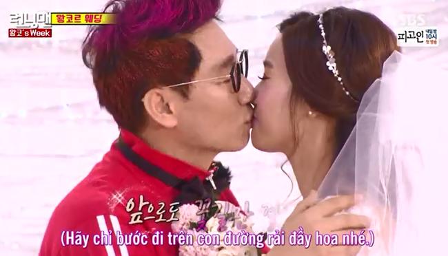 Anh Mũi To nhuộm tóc xanh đỏ, bật khóc trong đám cưới tại Running Man - Ảnh 7.
