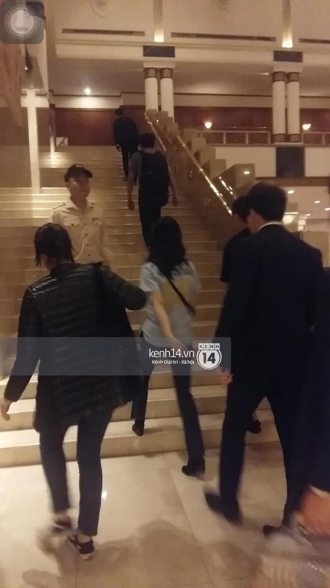 Yoona thay trang phục năng động trở về khách sạn nghỉ ngơi trước khi ra sân bay - Ảnh 9.