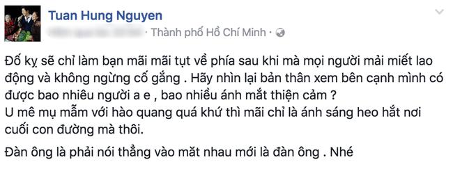 Tuấn Hưng viết status đá xéo, Duy Mạnh thẳng thắn đáp trả bằng ngôn từ mạnh bạo? - Ảnh 1.