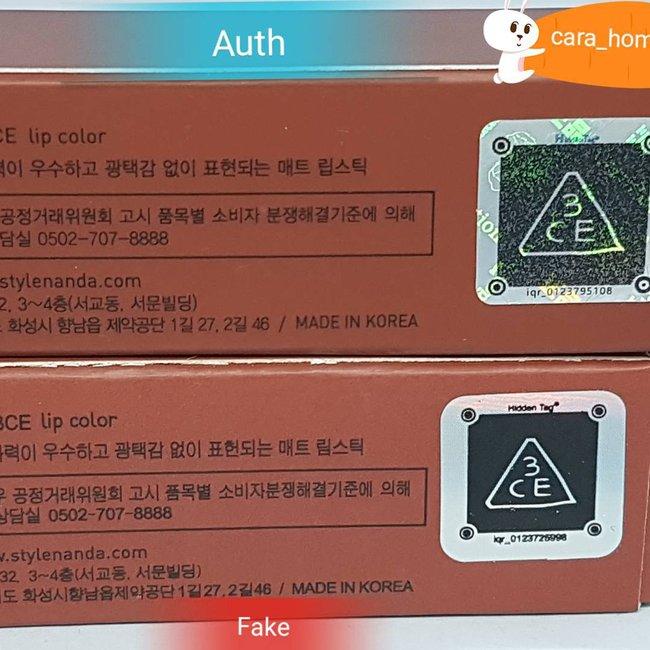 Clip: Đập hộp, swatch son 3CE fake - Nếu không chú ý sẽ rất khó phân biệt! - Ảnh 7.