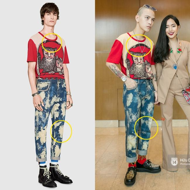 Bị tố mặc đồ fake, Decao không ngần ngại đưa bằng chứng mình mua nguyên set Gucci xịn - Ảnh 1.