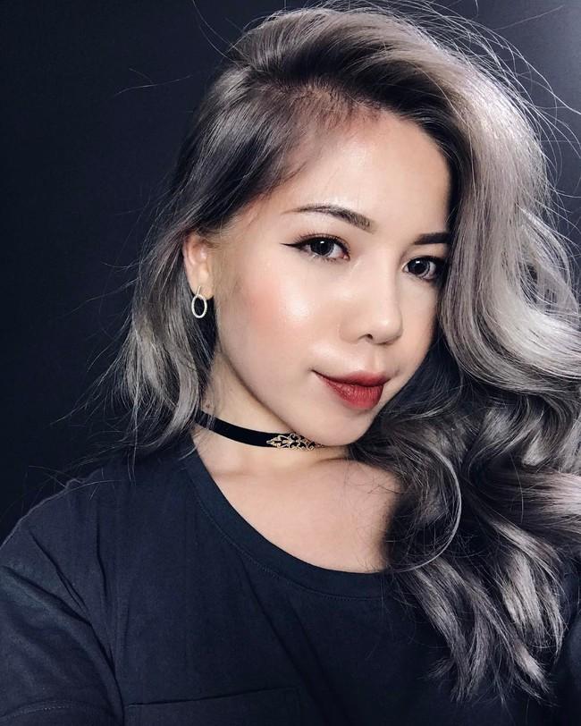 Changmakeup tạm biệt tóc bạch kim, chuyển sang màu nhuộm Bạch Cốt Tinh siêu nổi - Ảnh 1.