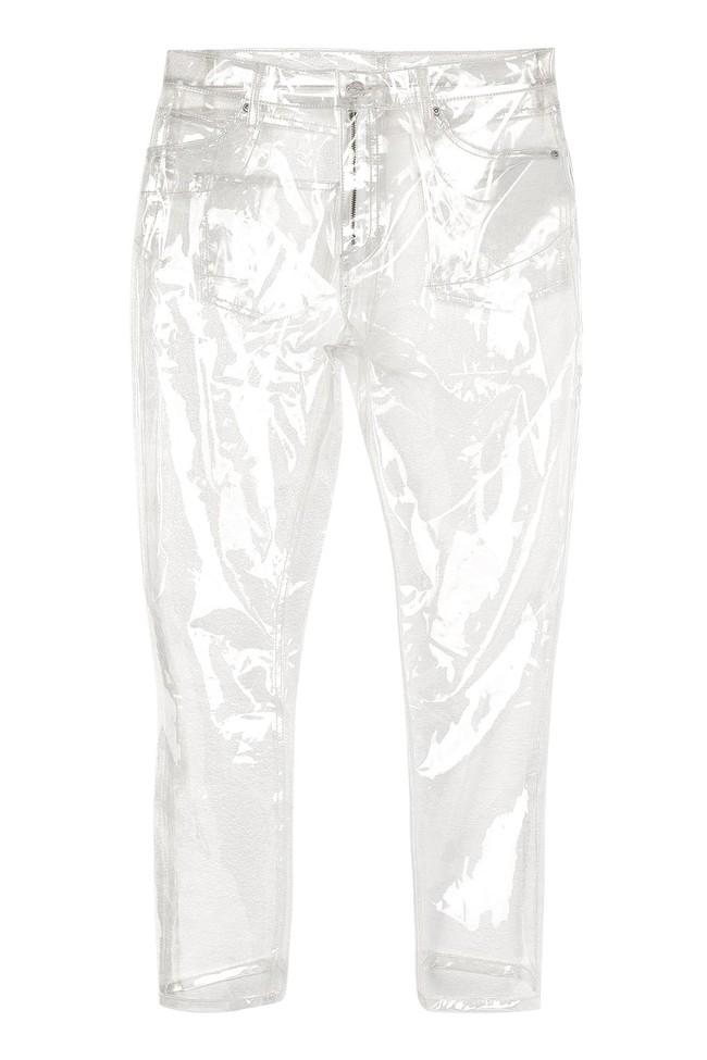 Thảm họa quần jeans trong suốt nhìn xuyên thấu giống hệt áo mưa - Ảnh 1.