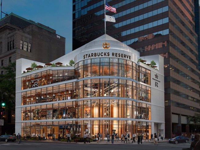 Choáng ngợp với cửa hàng có quy mô lớn nhất từ trước đến nay của Starbucks - ảnh 1
