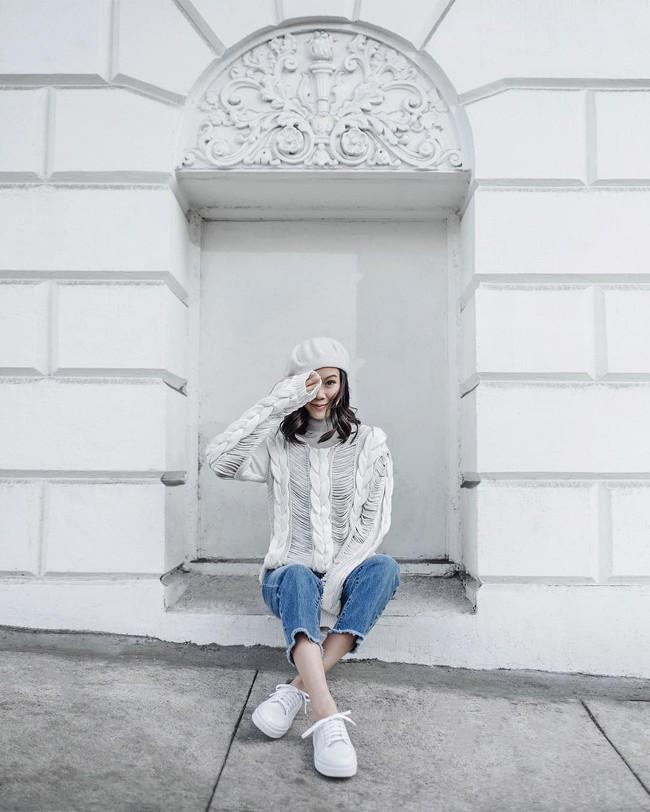 Ngắm street style đông đẹp đáng ghen tị của giới trẻ thế giới để ủ mưu lên đồ cho đợt lạnh tới - Ảnh 10.