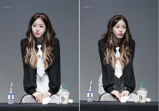 Các idol xứ Hàn tích cực sống ảo với kiểu makeup dính hoa khô, sticker lên mặt vừa xinh vừa nghệ - Ảnh 8.