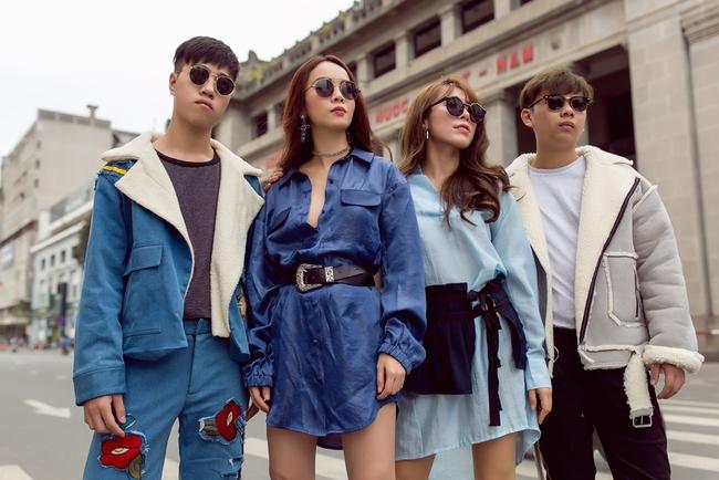 Team Yến Trang tung bộ ảnh streetstyle cực chất trước đêm thi The Remix - Ảnh 8.
