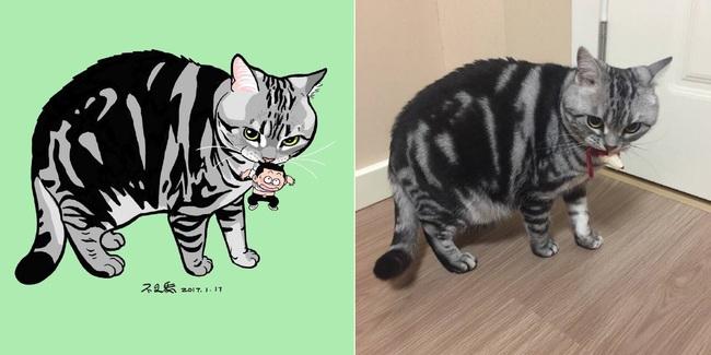 Nếu yêu mèo, bạn sẽ muốn phát điên trước chùm tranh siêu cấp dễ thương này - Ảnh 17.