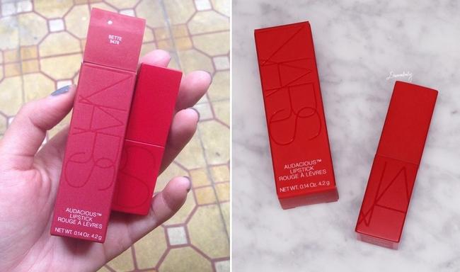 Cảnh báo: Son Nars vỏ đỏ đình đám cũng đã có hàng fake, nguy cơ bị mua son giả giá thật cao! - Ảnh 12.