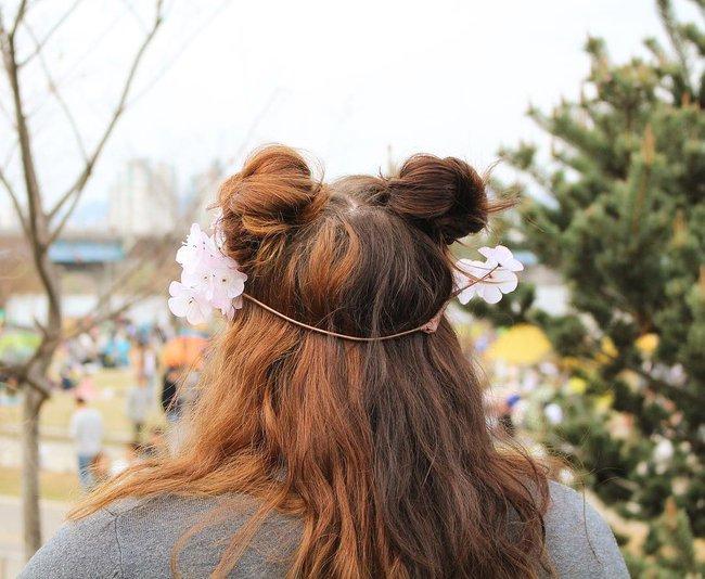 Diện chán tóc búi nửa, con gái châu Á chuyển sang mê mệt tóc búi 2 sừng siêu ngộ nghĩnh - ảnh 12