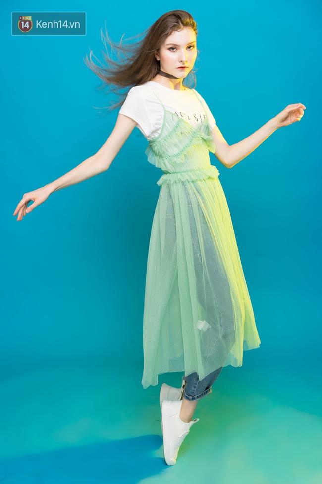 5 công thức mix áo phông trắng đẹp mê bạn phải diện ngay hè này - Ảnh 5.