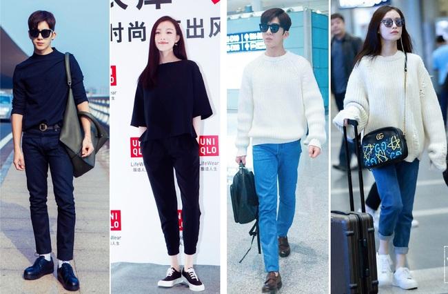 """Không những đẹp đôi, 4 cặp sao Hoa ngữ này còn có gu thời trang """"tình như cái bình"""" khiến dân tình phải xuýt xoa - Ảnh 12."""