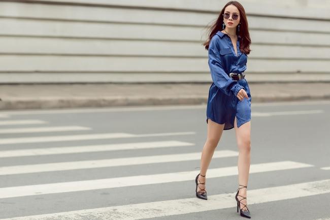 Team Yến Trang tung bộ ảnh streetstyle cực chất trước đêm thi The Remix - Ảnh 2.