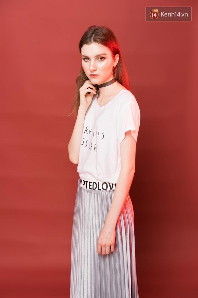 5 công thức mix áo phông trắng đẹp mê bạn phải diện ngay hè này - Ảnh 3.