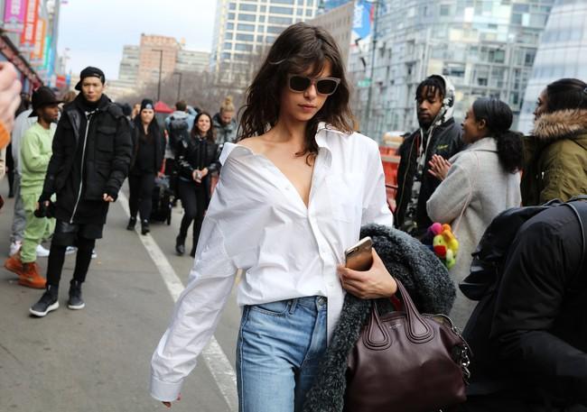 Chiêm ngưỡng đặc sản street style không đâu đẹp bằng của Tuần lễ thời trang New York - Ảnh 18.