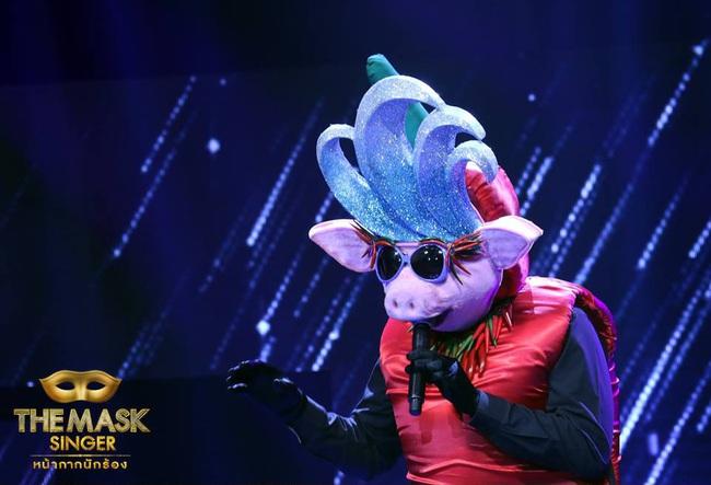 Chỉ có Thái Lan mới sáng tạo ra những ca sĩ mặt nạ kỳ quái như thế này! - Ảnh 5.