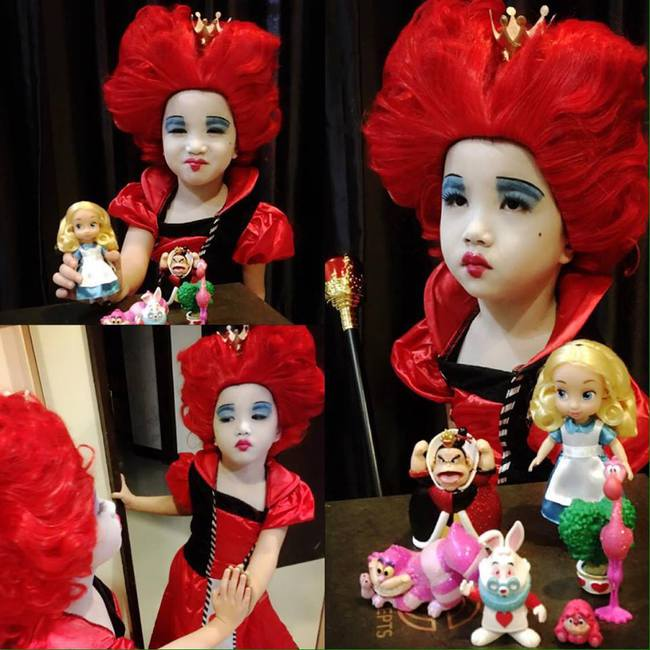 Bị mẹ ngăn cản, cô bé 5 tuổi vẫn kiên quyết cắt tóc răng cưa để giống thần tượng Maruko - ảnh 11