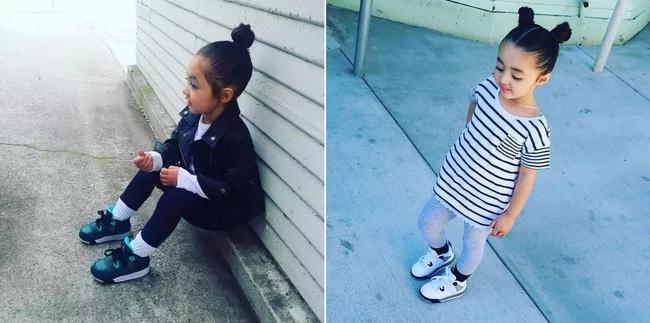 Mới 4 tuổi, cô nhóc này đã sở hữu hàng chục đôi sneakers đình đám khiến người lớn phải kiêng dè - Ảnh 15.